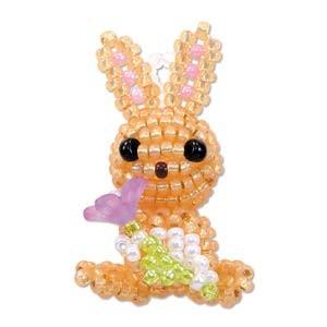 Miyuki Charm Kit No. 31 Flora Rabbit