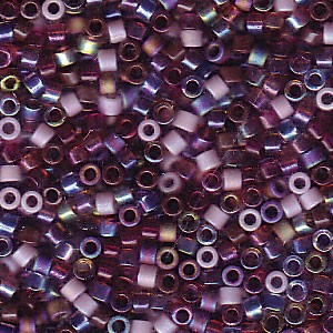 Miyuki Delica Beads 1,6mm Mix18 Vineyard 7,2 Gr.
