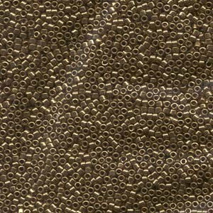Miyuki Delica Beads 1,6mm DB0022L metallic Light Bronze 5gr