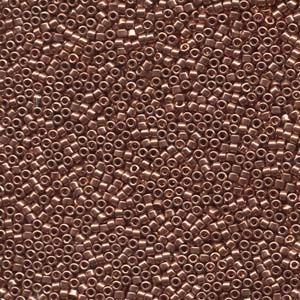 Miyuki Delica Beads  1,6mm DB0040 metallic Bright Copper 5gr