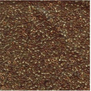 Miyuki Delica Beads 1,6mm DB0118 Transparent luster Saffron 5gr