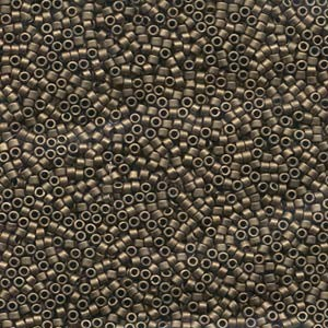 Miyuki Delica Beads 1,6mm DB0322 metallic matte Bronze 5gr
