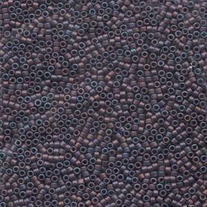 Miyuki Delica Beads 1,6mm DB0323 matt metallic rainbow Purple 5gr
