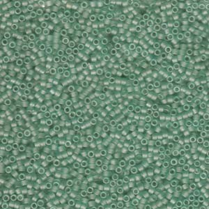 Miyuki Delica Beads 1,6mm DB0385 matt Sea Glass Green 5gr