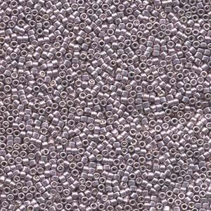 Miyuki Delica Beads 1,6mm DB0429 dyed galvanized Lavender 5gr
