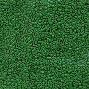 Miyuki Delica Beads 1,6mm DB0655 dyed opaque Kelly Green 5gr