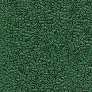 Miyuki Delica Beads 1,6mm DB0656 opaque Green 5gr