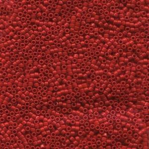 Miyuki Delica Beads 1,6mm DB0723 opaque Red 5gr