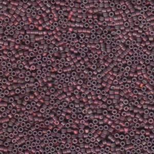 Miyuki Delica Beads 1,6mm DB1012 Luster med Raspberry 5gr
