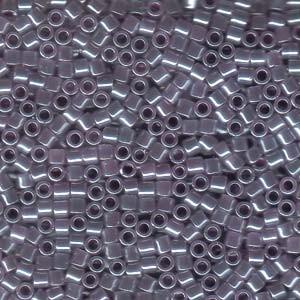 Miyuki Delica Beads 3mm DBL0249 opaque luster Light Purple ca 6,8 Gr.