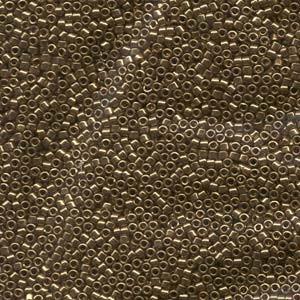 Miyuki Delica Beads 2,2mm DBM0022L metallic Light Bronze 7,2 Gr.