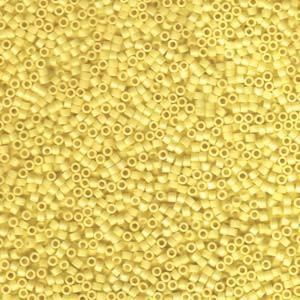 Miyuki Delica Beads 1,6mm DB1132 opaque Canary 5gr