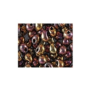 Miyuki Drop Beads 3,4mm 0462 metallic rainbow Gold 10gr