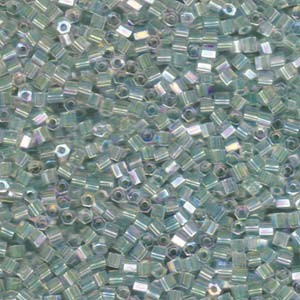 Miyuki Hexagon Beads 8C-2780 3mm colorlined irisierend Seafoam 11gr