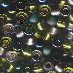 Miyuki Rocailles Beads 4mm Mix03 Evergreen ca 20 Gr.