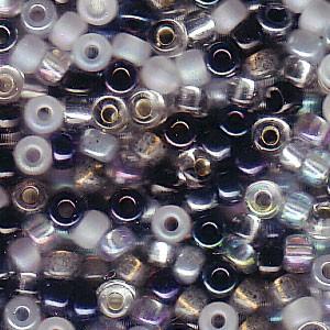 Miyuki Rocailles Beads 3mm Mix12 Apparition ca 22gr