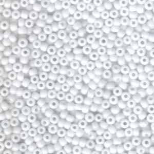 Miyuki Rocailles Beads 3mm 0402 opaque White ca 13gr