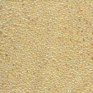 Miyuki Rocailles Beads 3mm 0516 ceylon Light Gold ca 13gr