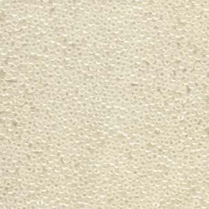 Miyuki Rocailles Beads 2mm 0592 ceylon Ivory 12gr