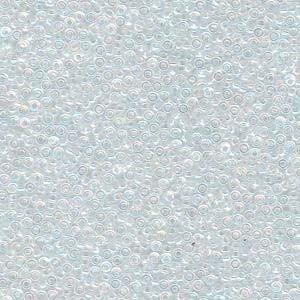 Miyuki Rocailles Beads 1,5mm 0250 transparent rainbow Clear ca 11gr
