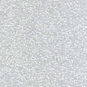 Miyuki Rocailles Beads 1,5mm 0284 Peachlined rainbow crystal ca11gr