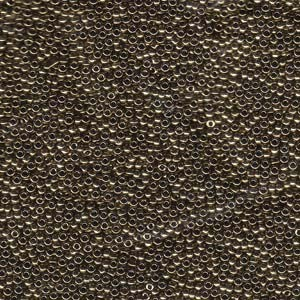 Miyuki Rocailles Beads 1,5mm 0457 metallic Bronze ca 11gr