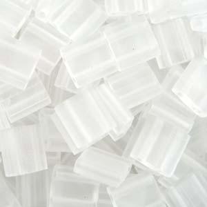 Miyuki Tila Beads 5mm Crystal Matt Transparent TL0131F 7,2gr