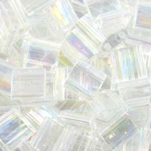 Miyuki Tila Beads 5mm Crystal AB TL0250 7,2gr