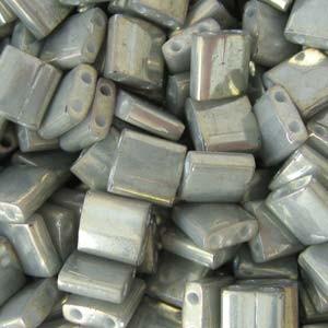 Miyuki Tila Beads 5mm galvanized Grey Luster TL1865 7,2gr