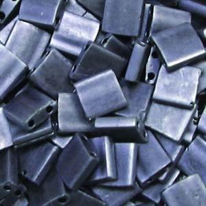 Miyuki Tila Beads 5mm Blue Grey Matt TL2001 7,2gr