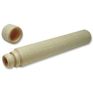 Nadeldose Holz 8,75cm lang 2 Stück