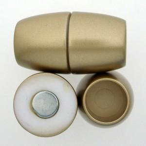Magnetverschluss goldfarben 42x25mm