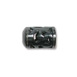 Perlenkappe Gunmetal 10x7mm 1 Stück