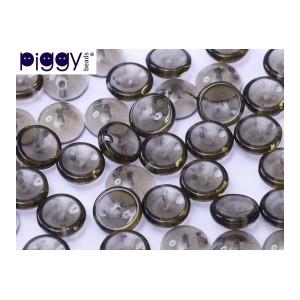 Piggy Beads 4x8mm Black Diamond 50 Stück