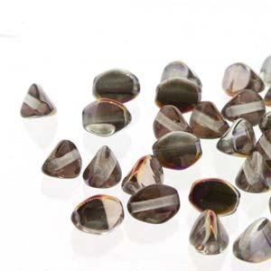 Pinch Beads 5x3mm Crystal Sliperit 50 Stück