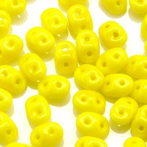 SuperDuo Perlen 2,5x5mm Limon DU0583120 ca 24gr