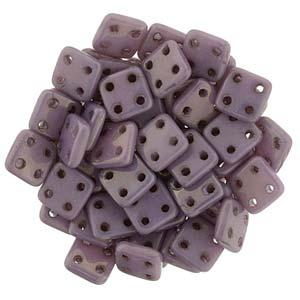 Quadratile Beads opaque luster Lilac ca 10 gr