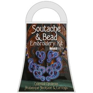 Materialkit Soutache Arabesque Blue