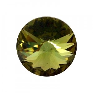 Swarovski Elements Rivolis 18mm Peridot Rose 1 Stück