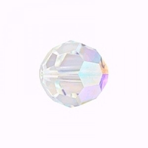 Swarovski Elements Perlen Kugeln 10mm Crystal AB beschichtet