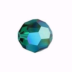 Swarovski Elements Perlen Kugeln 10mm Emerald