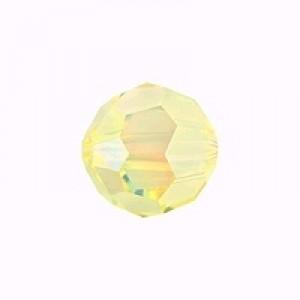 Swarovski Elements Perlen Kugeln 10mm Jonquil AB beschichtet