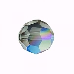 Swarovski Elements Perlen Kugeln 10mm Black Diamond 1 Stück