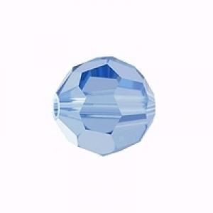 Swarovski Elements Perlen Kugeln 4mm Light Sapphire 10 Stück