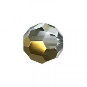 Swarovski Elements Perlen Kugeln 8mm Crystal Dorado 2x beschichtet
