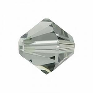 Swarovski Elements Perlen Bicones 5mm Black Diamond 50 Stück