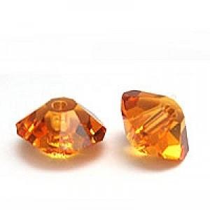 Swarovski Elements Perlen Bicones Elegant 5mm Topaz 10 Stück