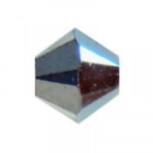 Swarovski Elements Perlen Bicones 6mm Crystal CAL2X beschichtet 25 Stück