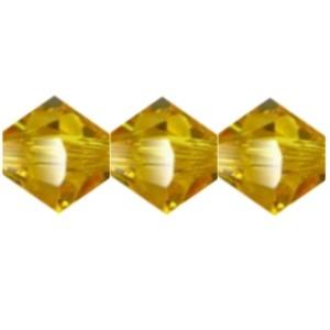 Swarovski Elements Perlen Bicones 4mm Sunflower 50 Stück