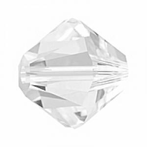 Swarovski Elements Bicone 5mm Crystal 100 Stück